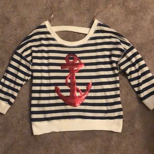 Anchor Pullover Sweater